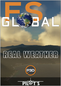 PILOT'S FSG - FS GLOBAL REAL WEATHER 模拟飞行全球真实天气 PREPAR3D V5版本