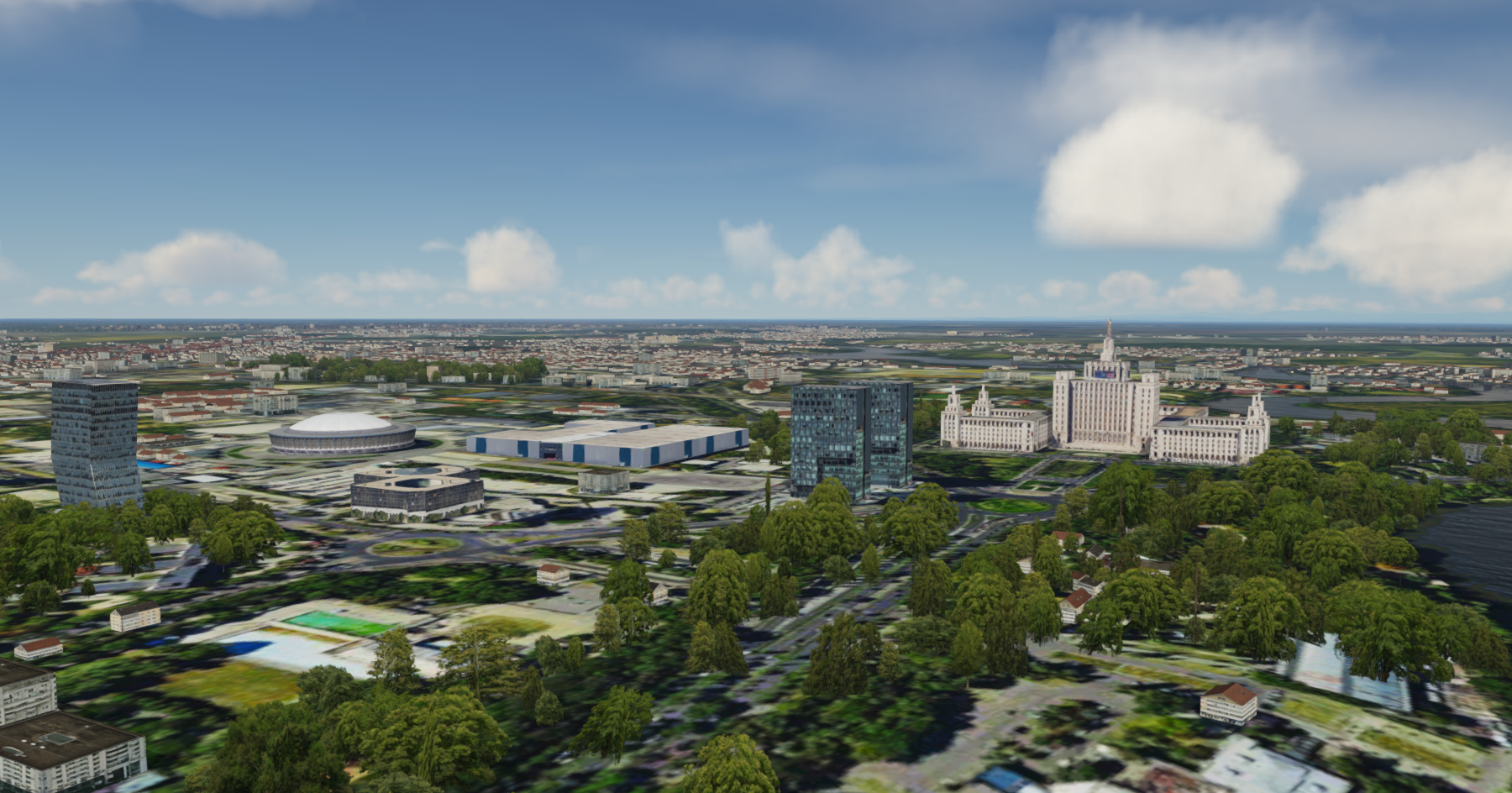 SAMSCENE - BUCHAREST CITY CENTURY FSX P3D