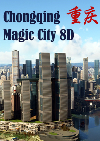 CHONGQING MAGIC CITY 8D MSFS