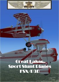 GOLDEN AGE - 1950'S GREAT LAKES SPORT STUNT PLANES FSX P3D