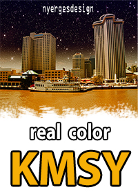 REAL COLOR KMSY FOR TOWER! 2011