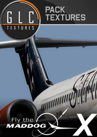 GLC TEXTURES - MD-80 SAS STAR ALLIANCE & SWEDEN AIR FSX P3D