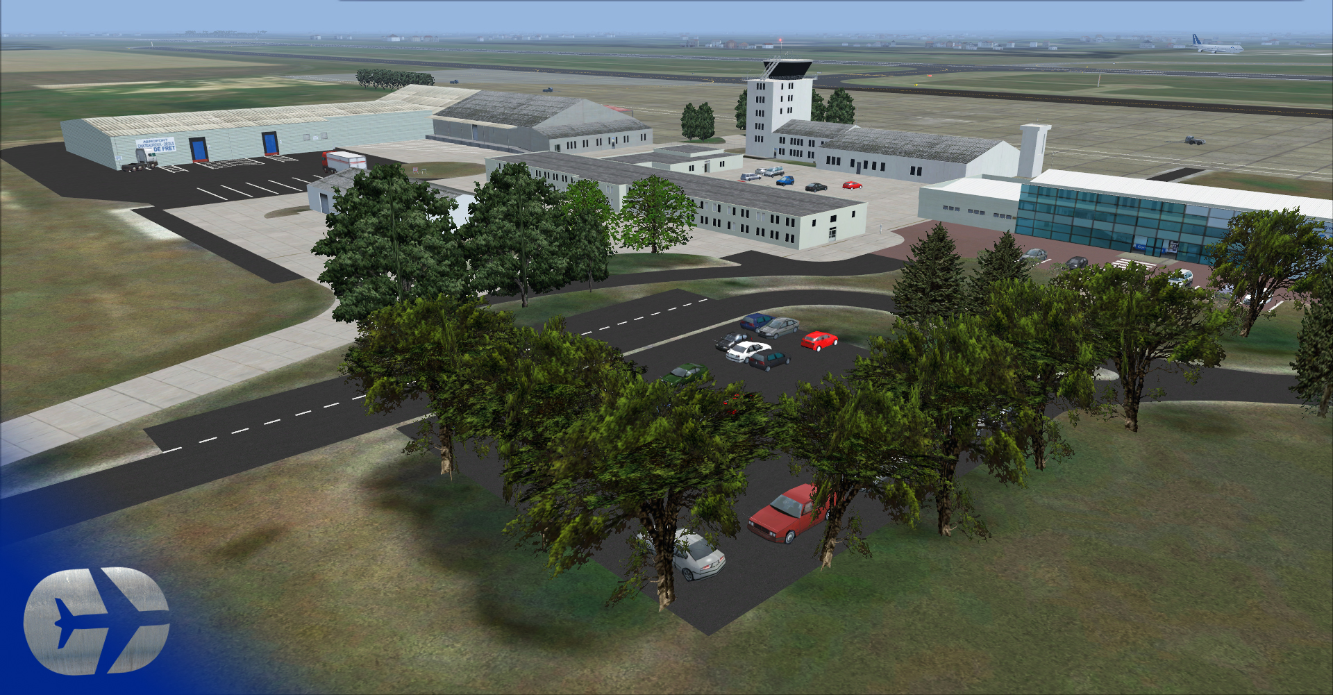 SIMCREATIONS - CHATEAUROUX DEOLS AIRPORT FSX/P3D