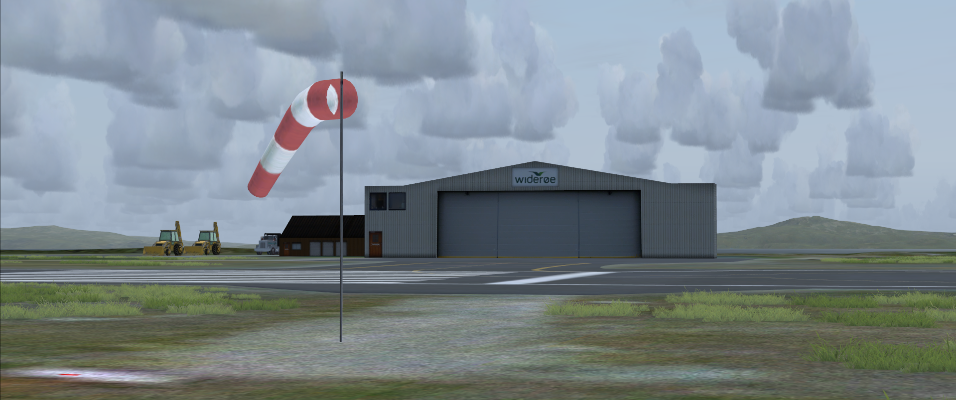 IRONSIM - VADSO AIRPORT FSX P3D