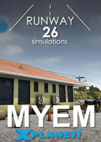 RWY26 SIMULATIONS - MYEM GOVERNORS HARBOUR AIRPORT X-PLANE 11