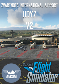 AMSIM - ZVARTNOTS INTERNATIONAL AIRPORT V2 MSFS UDYZ