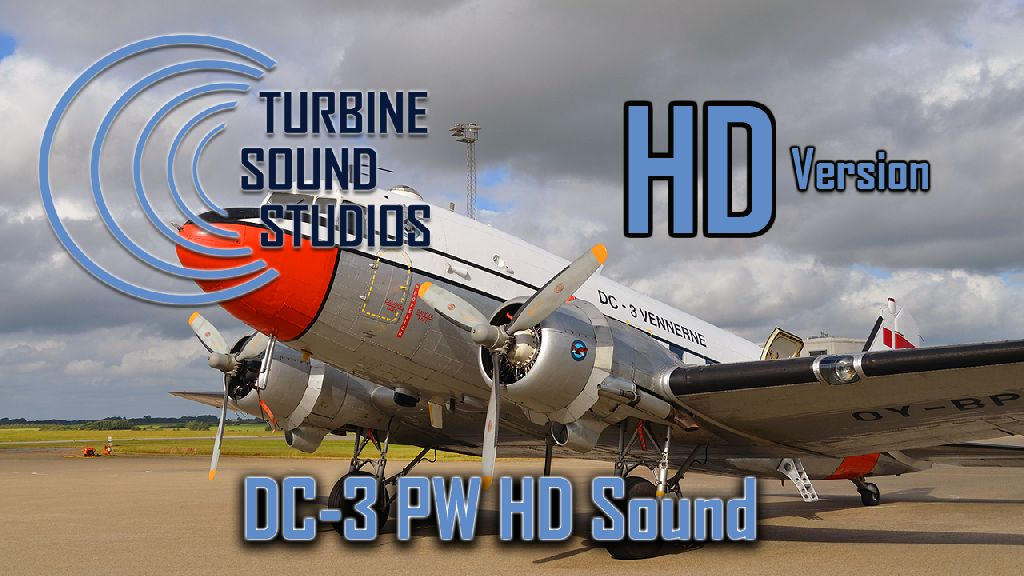 TURBINE SOUND STUDIOS - DC-3 PW SOUNDPACK FOR FS2004