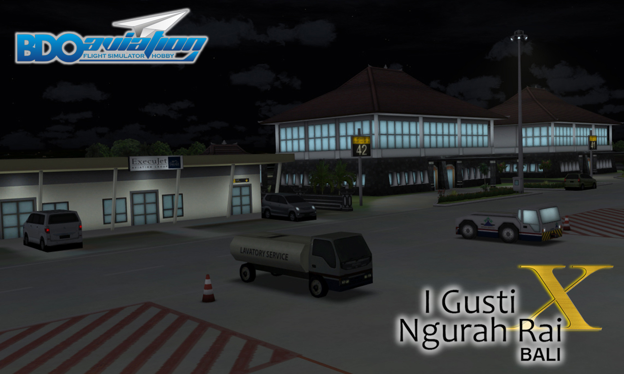 BDOAVIATION - NGURAH RAI INTERNATIONAL AIRPORT WADD FSX