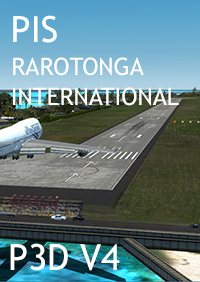 PACIFIC ISLANDS SIMULATION - RAROTONGA INTERNATIONAL (NCRG)  P3D V4