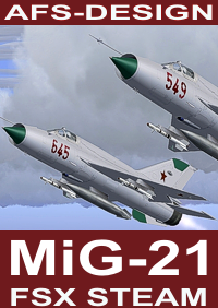 AFS-DESIGN - MIG-21 V2 FSX STEAM