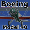 GOLDEN AGE - BOEING MODEL 40 FS2004