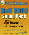 SONIC SOLUTIONS - BELL 206B SOUNDPACK FSX P3D