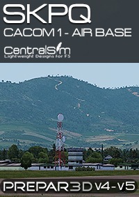 CENTRALSIM - SKPQ CACOM1 AIR BASE - CAPTAIN GERMAN OLANO AIR BASE P3DV4 P3DV5