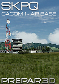 CENTRALSIM - SKPQ CACOM1 AIR BASE - CAPTAIN GERMAN OLANO AIR BASE P3D