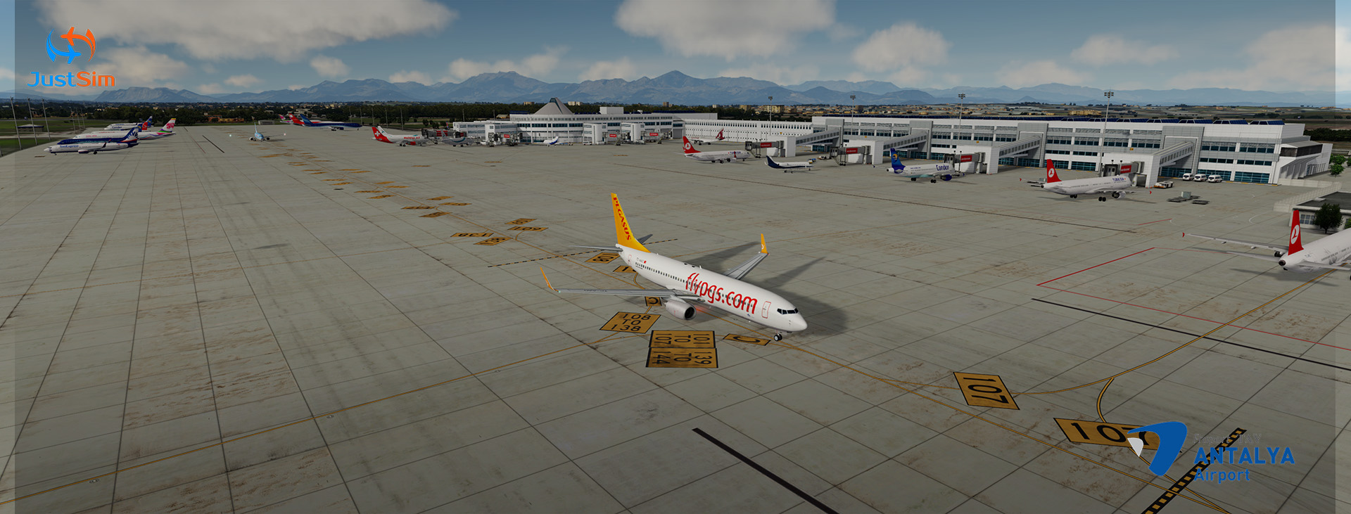 JUSTSIM - ANTALYA INTERNATIONAL AIRPORT LTAI V.2 P3D4.4+