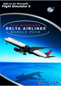 PERFECT FLIGHT - FSX MISSIONS – DELTA BUNDLE PACK