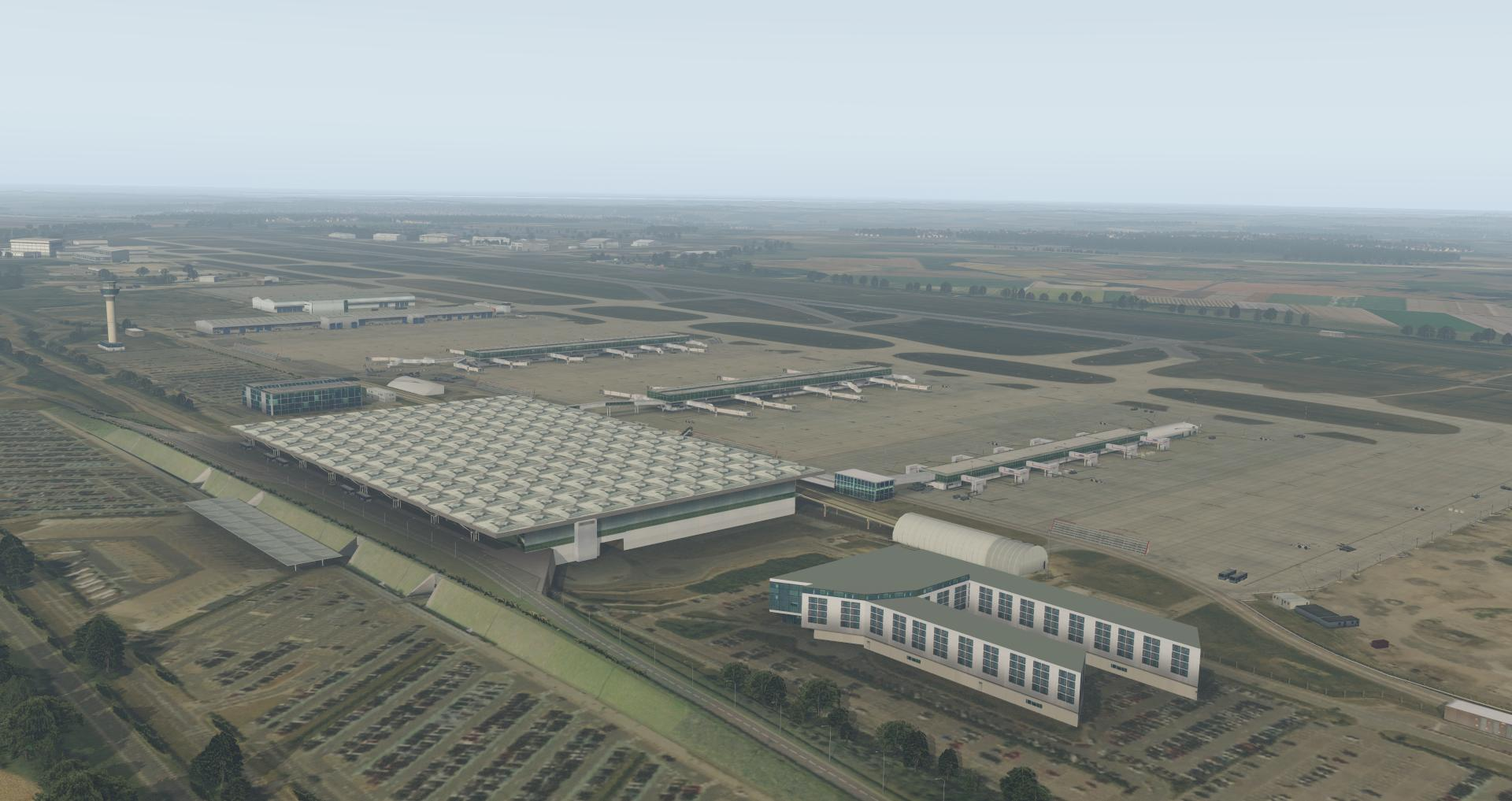 UK2000 SCENERY - STANSTED XTREME V4 EGSS X-PLANE 10/11