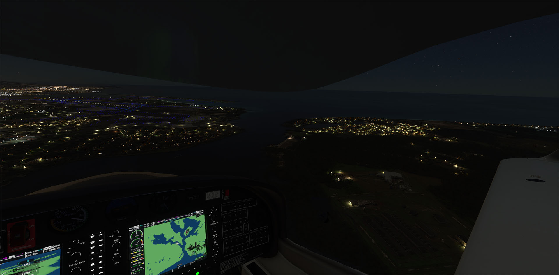 TABURET - NIGHT 3D HAWAII - V2 MSFS