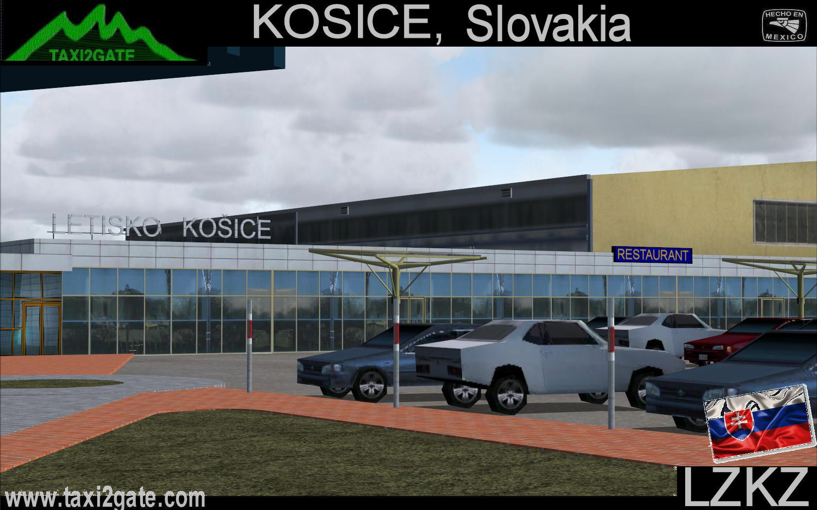 TAXI2GATE - KOSICE INTERNATIONAL AIRPORT LZKZ FS2004