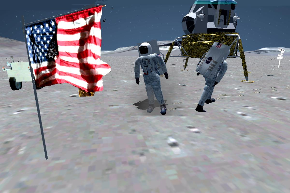 RDJ SIMULATION - P3D FLY TO MOON