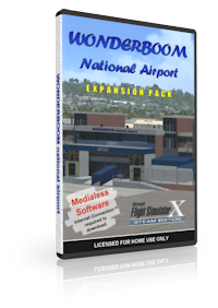 NMG SIMULATIONS - WONDERBOOM AIRPORT V1.4 FSX