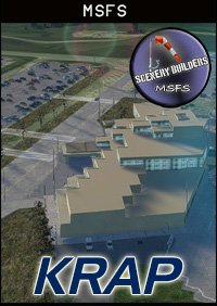 FSXCENERY - KRAP RAPID CITY REGIONAL AIRPORT MSFS