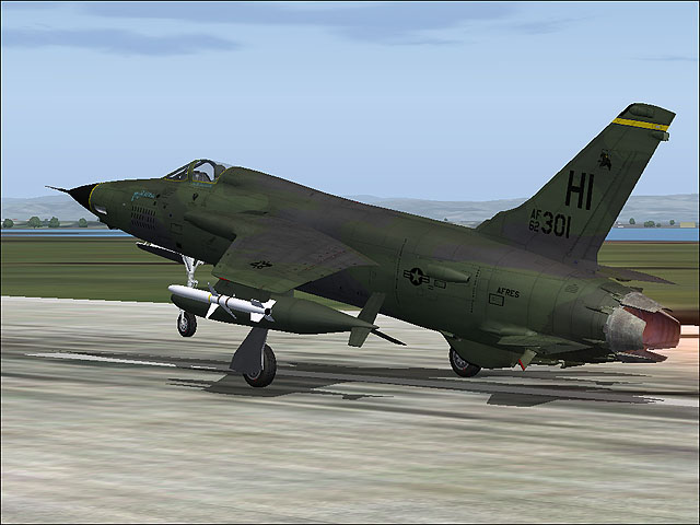 VIRTAVIA - F-105D THUNDERCHIEF