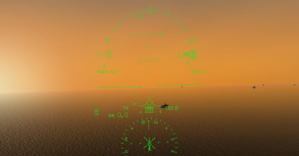 FLY REAL HUDS - HELO HUD