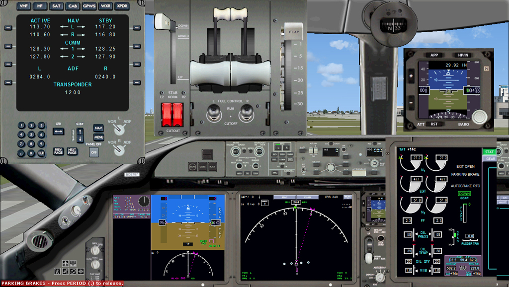 ALEX DESIGN - BOEING 787 2D PANEL FSX