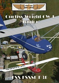 GOLDEN AGE - CURTISS-WRIGHT CW-1 JUNIOR FSX FSXSE P3D