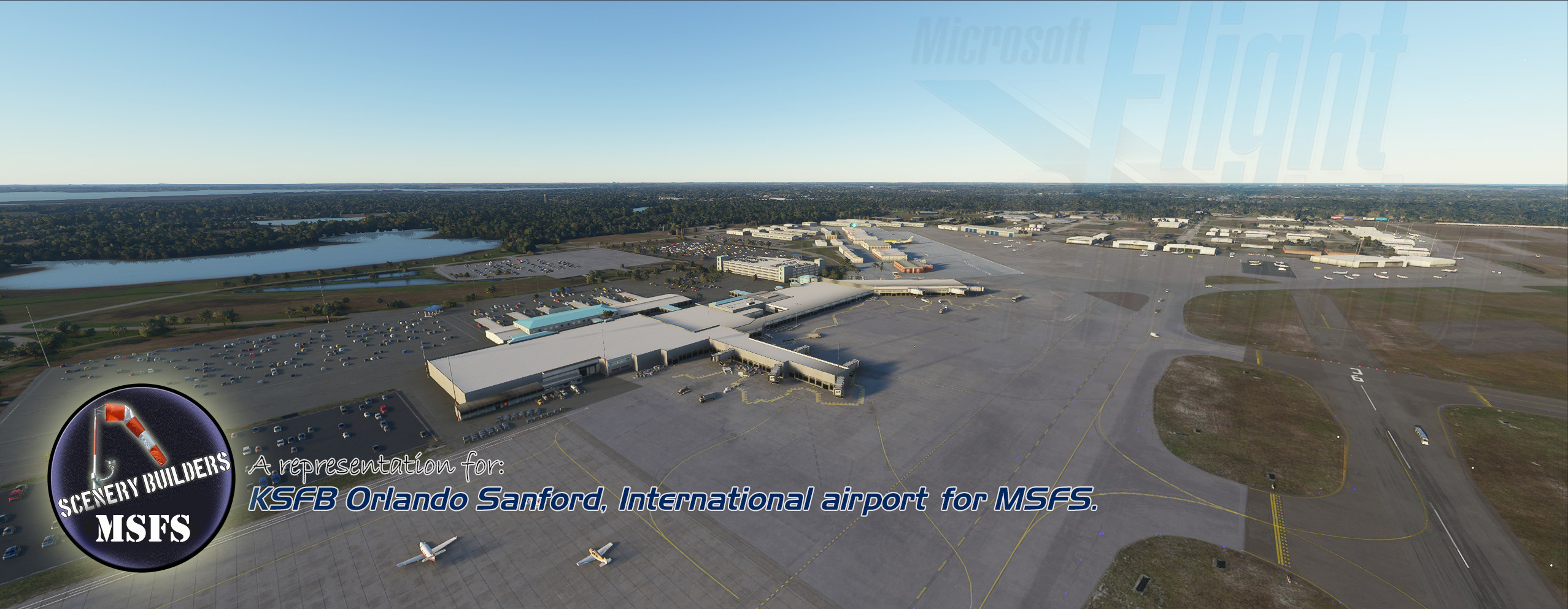 FSXCENERY - KSFB ORLANDO SANFORD INTERNATIONAL AIRPORT MSFS