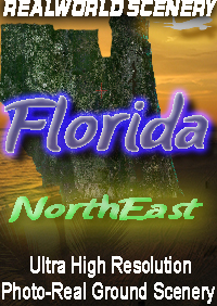 REALWORLD SCENERY - FLORIDA - NORTHEAST - FSX