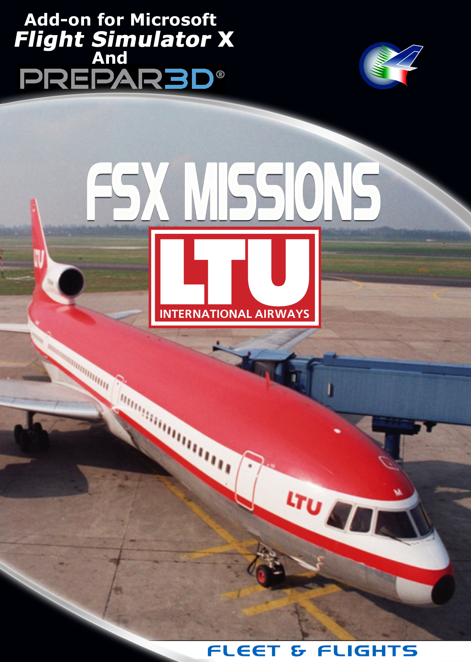 PERFECT FLIGHT - FSX MISSIONS LTU FSX/P3D