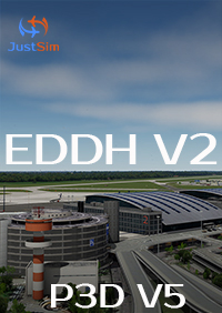 JUSTSIM - HAMBURG AIRPORT - EDDH V2 - FOR P3D V5