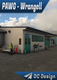 DC SCENERY DESIGN - PAWG - WRANGELL AIRPORT, ALASKA - MSFS