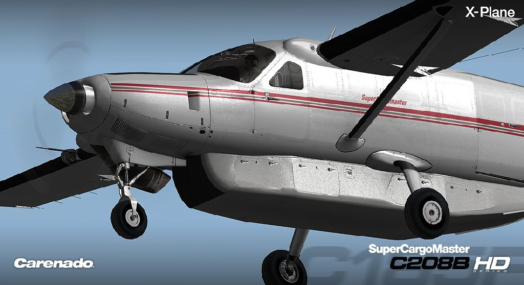 CARENADO - C208B GRAND CARAVAN SUPER CARGOMASTER EXPANSION PACK HD SERIES X-PLANE 10