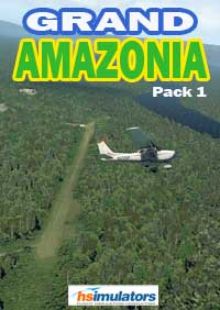 HSIMULATORS - GRAND AMAZONIA PACK 1 X-PLANE 11