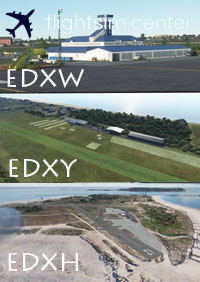 EDXW, EDXY, EDXH BUNDLE 3 AIRFIELD/AIRPORT PACK MSFS