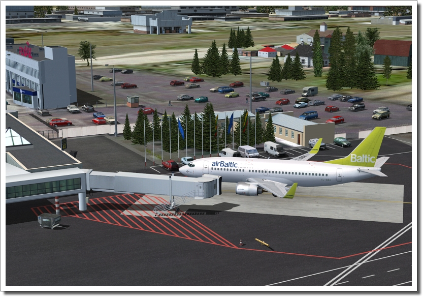 AEROSOFT - VILNIUS INTERNATIONAL X FSX FS2004