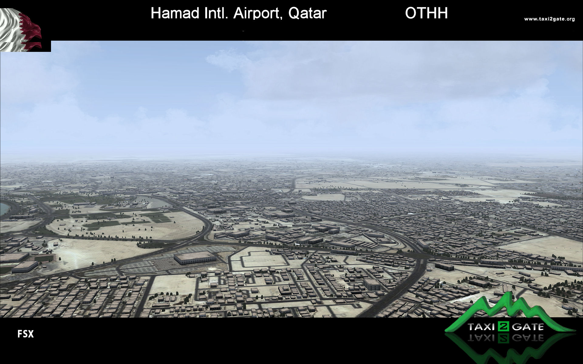 TAXI2GATE - HAMAD INTL AIRPORT FSX P3D
