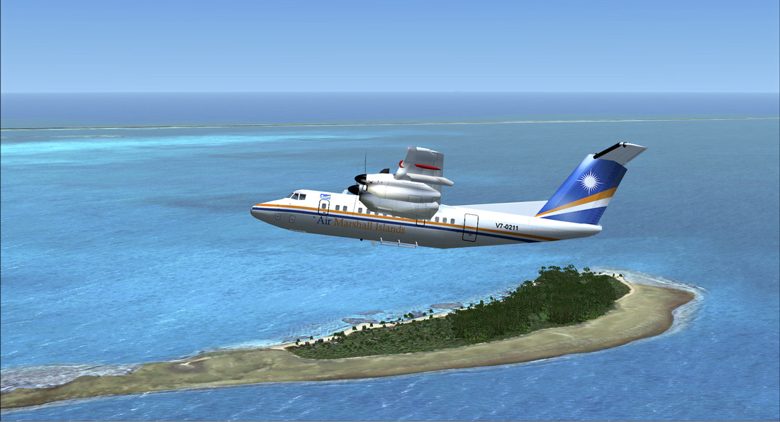 PACIFIC ISLANDS SIMULATION - MARSHALL ISLANDS P3D