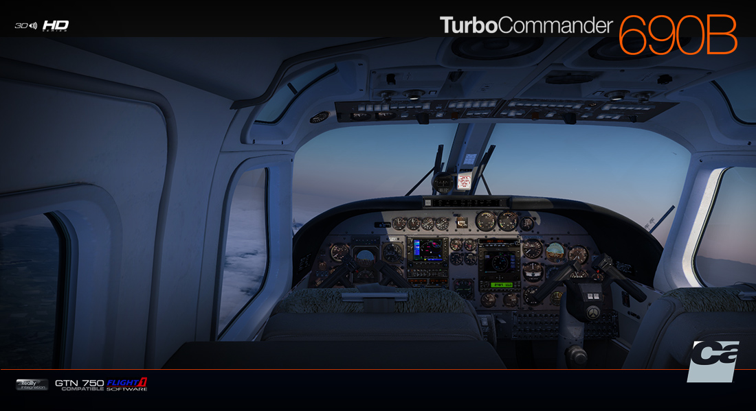 CARENADO - 690B TURBO COMMANDER FSX P3D