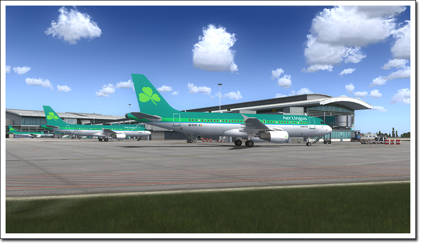 AEROSOFT - MEGA AIRPORT DUBLIN FSX P3D/FS2004 (DOWNLOAD)