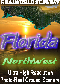 REALWORLD SCENERY - FLORIDA - NORTHWEST - FSX