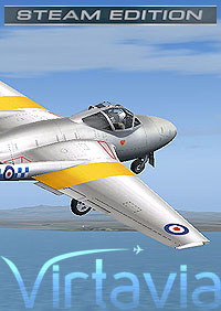 VIRTAVIA - DE HAVILLAND VAMPIRE T.11 FSX STEAM EDITION