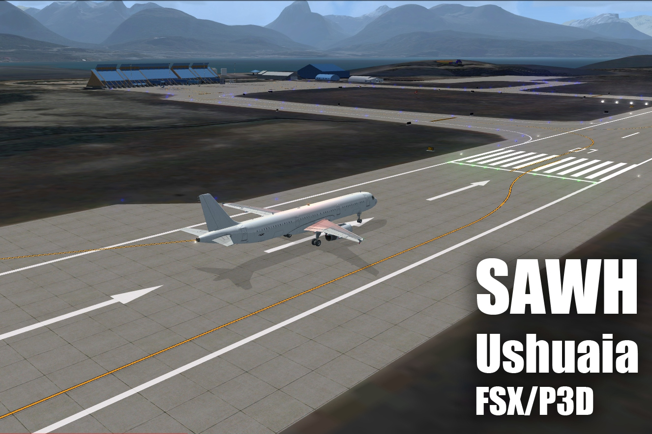 FLIGHTSIMDESIGN CHILE - USHUAIA INTERNATIONAL AIRPORT SAWH 2018 FSX P3D