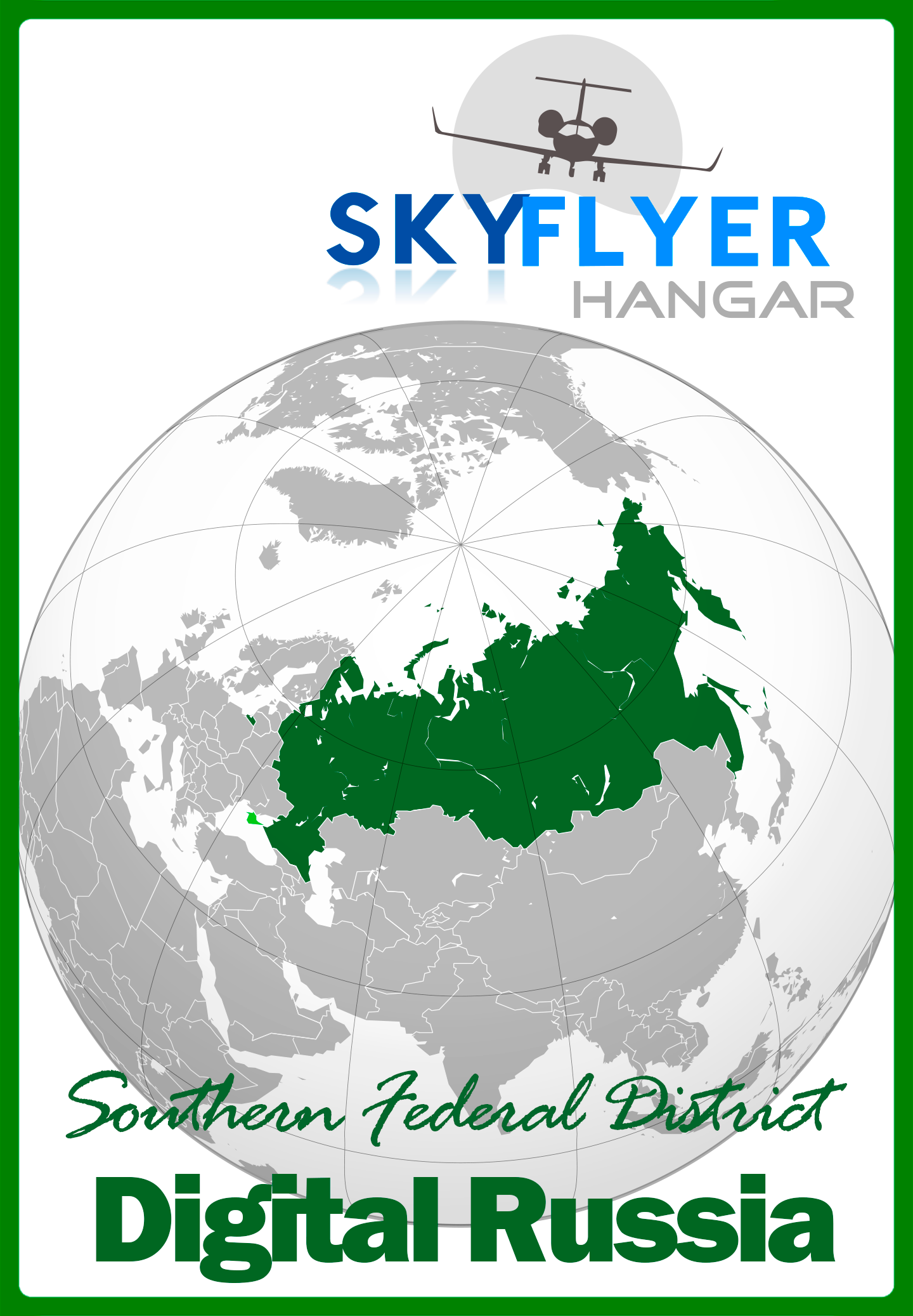 SKY FLYER HANGAR - DIGITAL RUSSIA SOUTHERN FEDERAL DISTRICT P3D