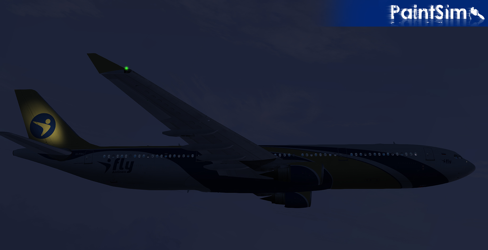PAINTSIM - HD TEXTURE PACK 3 FOR WILCO AIRBUS A330/340 FS2004