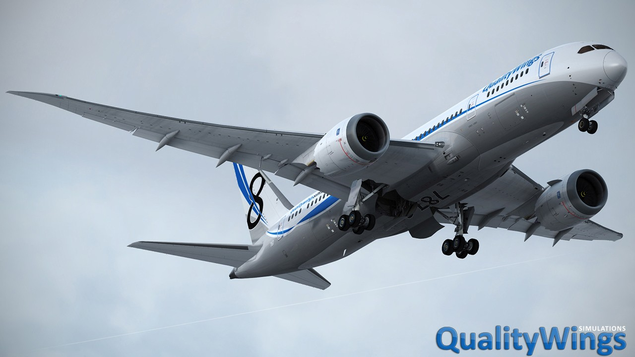 FLIGHT 1 - QUALITYWINGS ULTIMATE 787™ COLLECTION FOR FSX