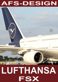 AFS-DESIGN - LUFTHANSA AIRBUS NEW LIVERY FSX
